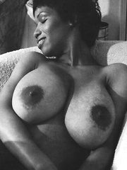 Sylvia McFarland shows her huge natural breasts