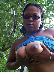 Amateur black woman Sasha