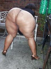 Fat black asses